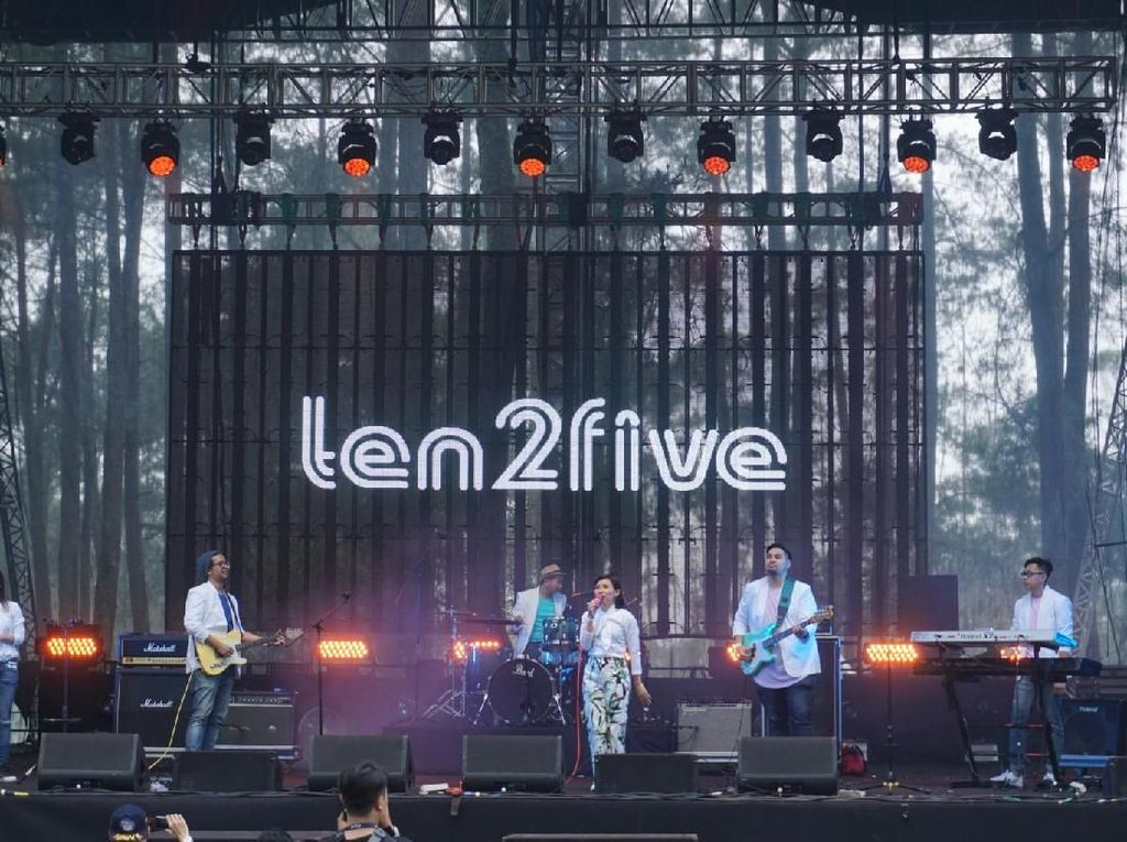 15 Tahun Berkarya, Ten2Five Bangga Hadir di LaLaLa Festival 2018