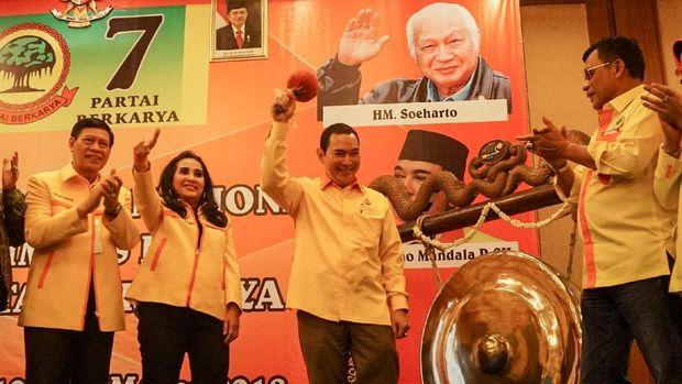 Supersemar dan Pengukuhan Tommy Soeharto Jadi Ketum Berkarya