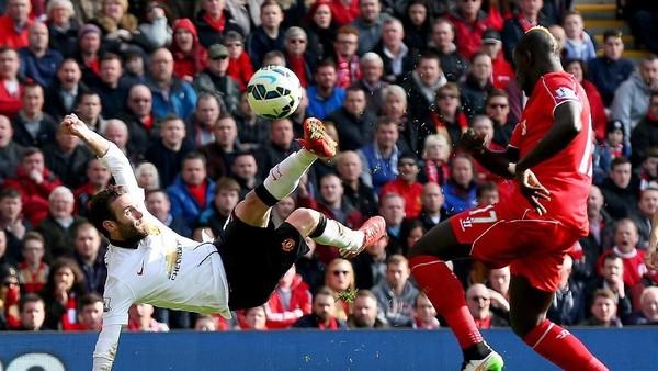 Mata Mengenang Gol Akrobatiknya ke Gawang Liverpool