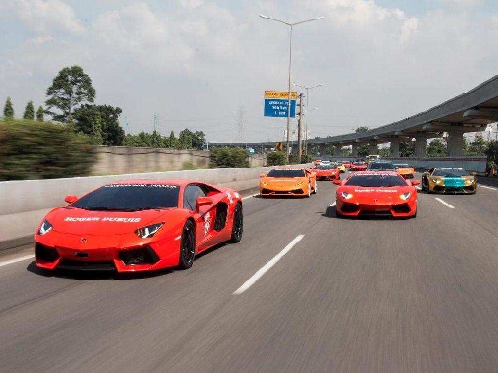 Ayo Tebak, Berapa Rupiah untuk Full Tank Lamborghini?