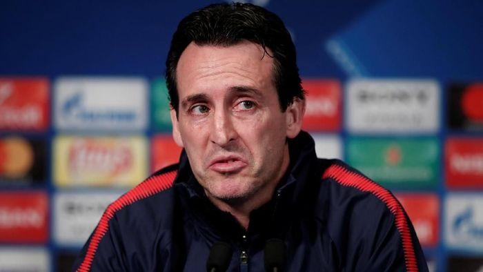 Unai Emery tak khawatir akan dipecat oleh Paris Saint-Germain (Benoit Tessier/Reuters)