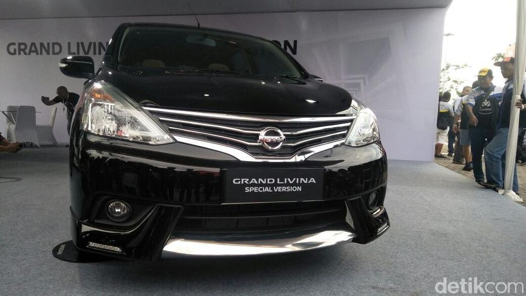 Nissan Grand Livina Special Version, Lebih Segar