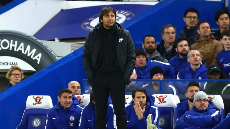 Conte Puas meski Banyak Peluang Chelsea yang Terbuang