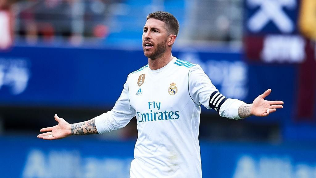 Video Sergio Ramos Ngamuk ke Pemain Muda Madrid