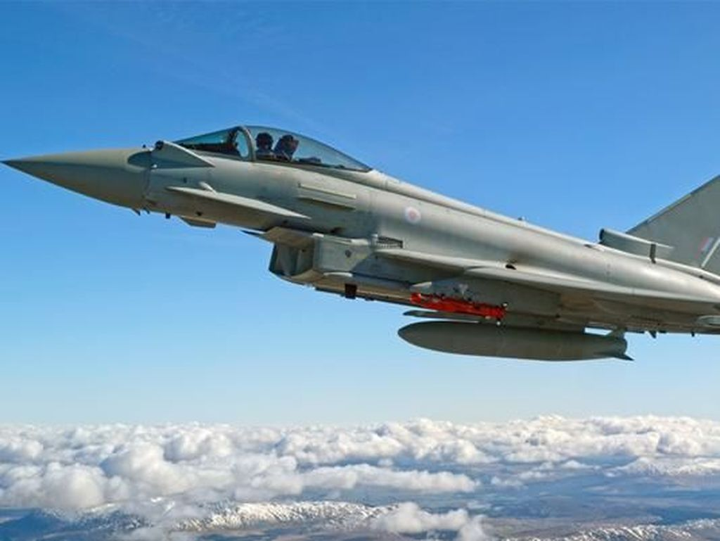 Ini Jet Eurofighter Typhoon yang Bikin Arab Saudi dan Inggris Sepakat