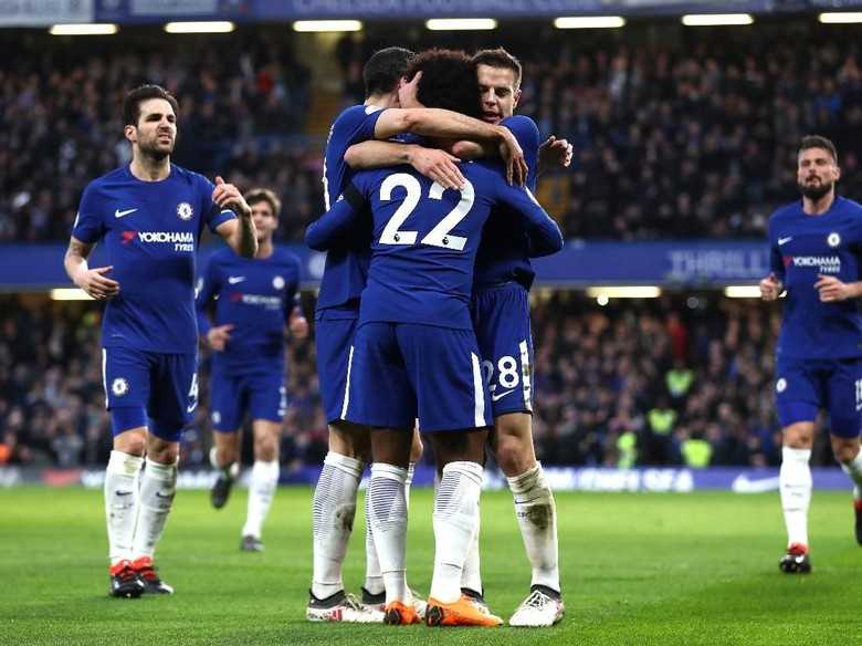 Kemenangan Penting dalam Misi Chelsea ke Empat Besar