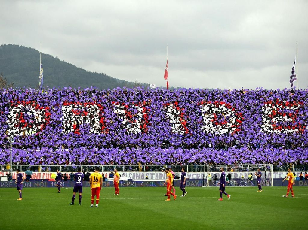 Fiorentina Mengenang Astori di Laga Emosional Melawan Benevento