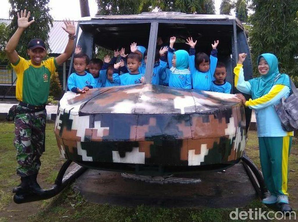 Foto: Keceriaan Anak-anak TK Sebelum Kecelakaan Tank di Purworejo