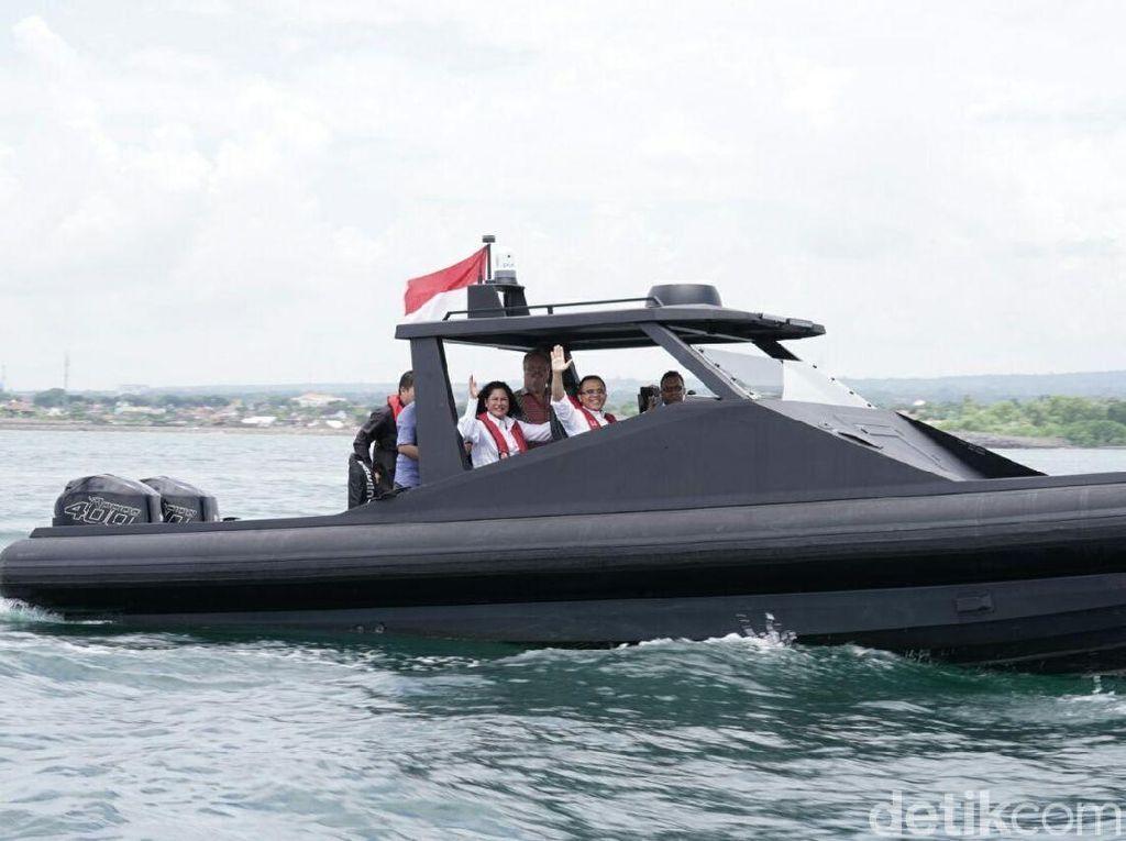 Kapal Produksi Banyuwangi Resmi Diekspor untuk Militer Rusia