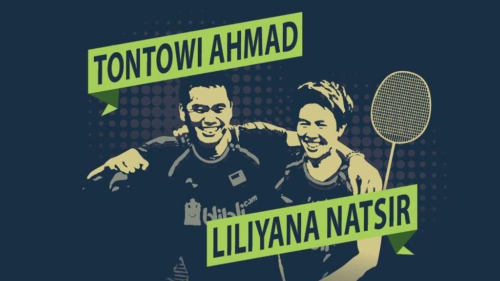 Jejak Emas Bekal Tontowi/Liliyana ke Asian Games 2018