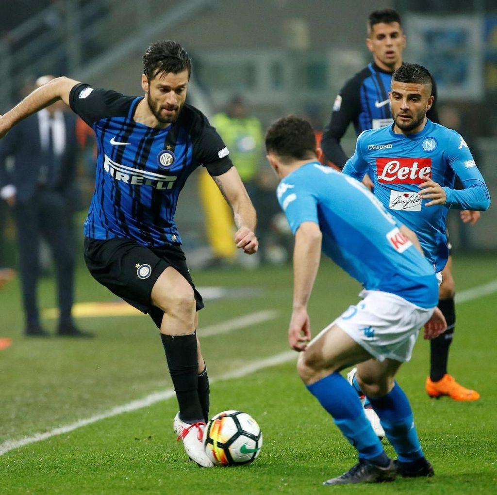 Spalletti Sebut Inter Kalah Kualitas, Candreva: Itu untuk Memacu Kami