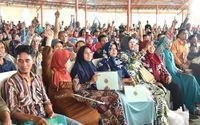 Jokowi mengingatkan warga untuk menyimpan baik-baik sertifikat yang diberikan