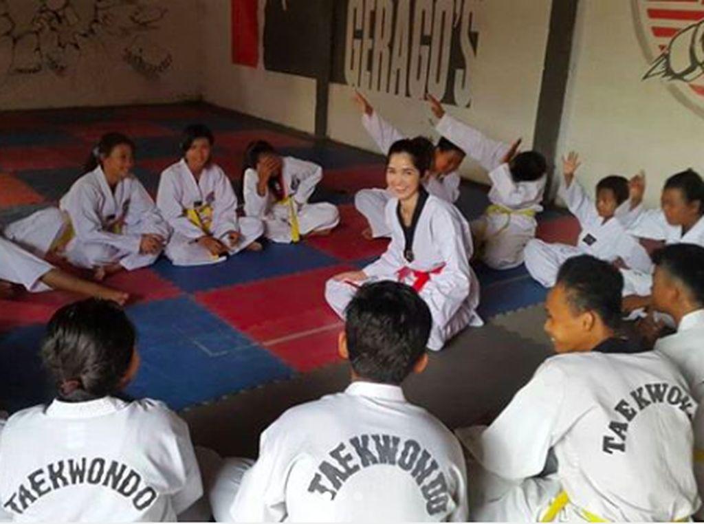 Gagahnya Sonia Fergina Citra, Jagoan Taekwondo yang Jadi Putri Indonesia 2018