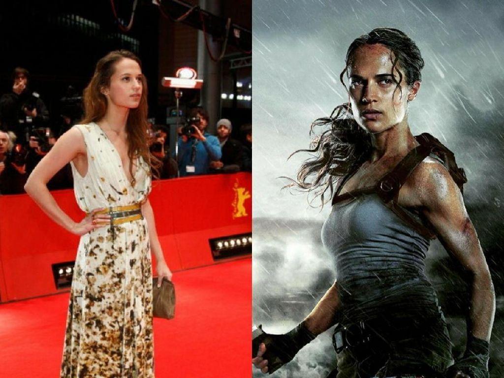 Transformasi Tubuh Bugar Alicia Vikander Jadi Lara Croft di Tomb Raider