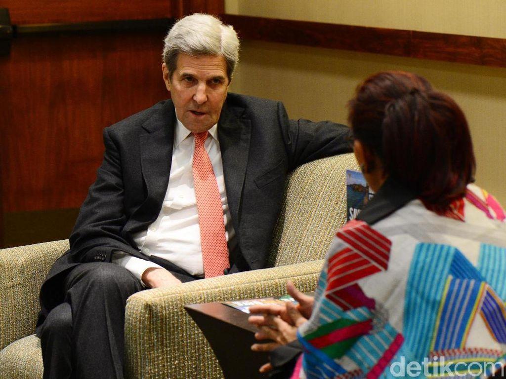 John Kerry Bicara Pentingnya Tanggung Jawab Bersama Jaga Lautan