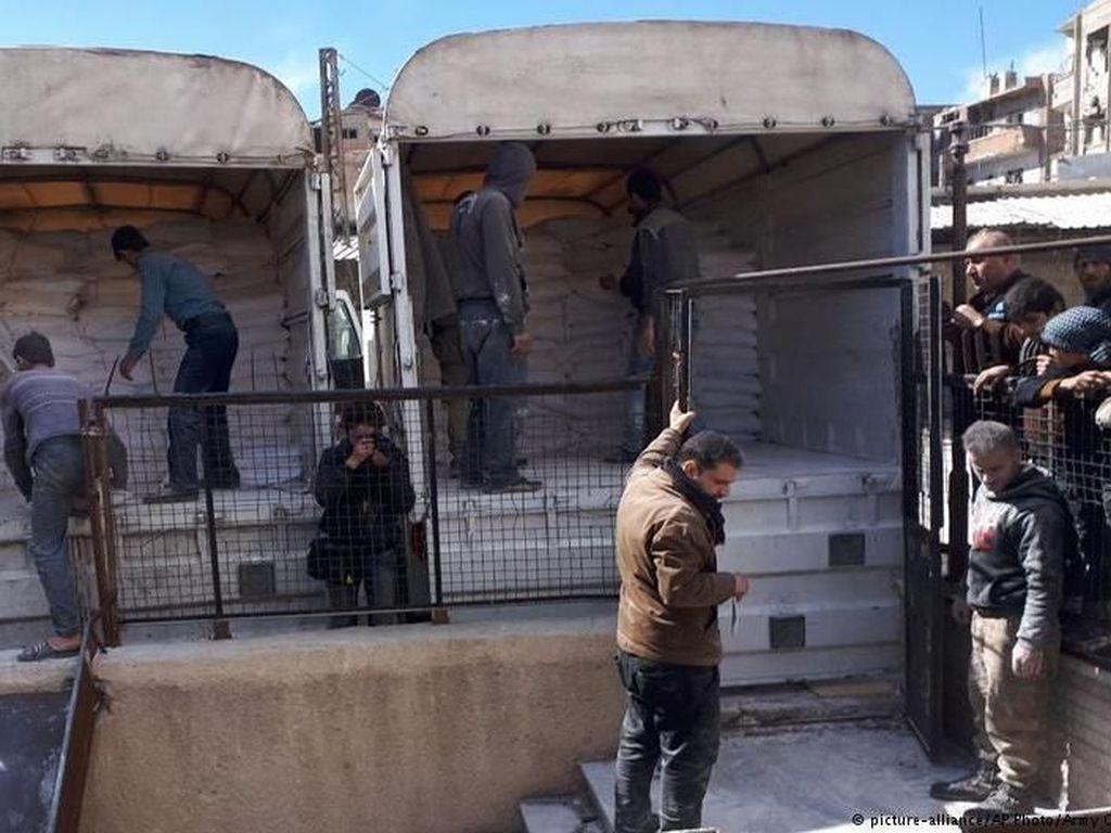 Pasukan Suriah Lanjutkan Gempuran di Ghouta Timur