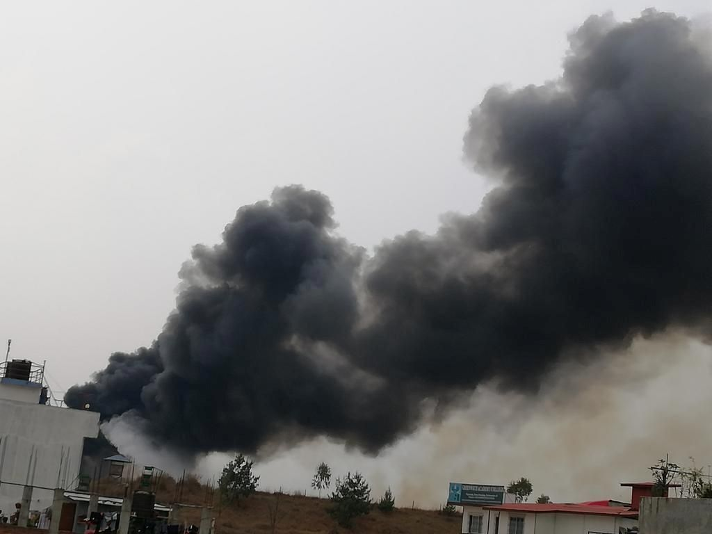 Pesawat Jatuh di Sudan Selatan, 19 Orang Tewas
