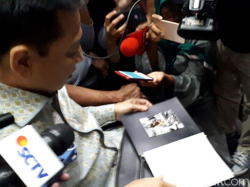 Pelepas Rindu Novanto: Gambar Love Papa dari Anak