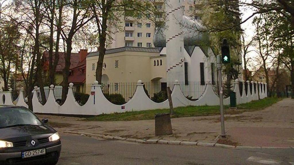 Foto: Masjid di Gdansk Polandia Dekat Klub Egy Maulana