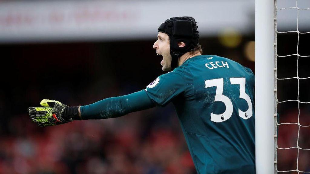 Cech: Clean Sheet Terbanyak di Premier League, Menurun di Arsenal
