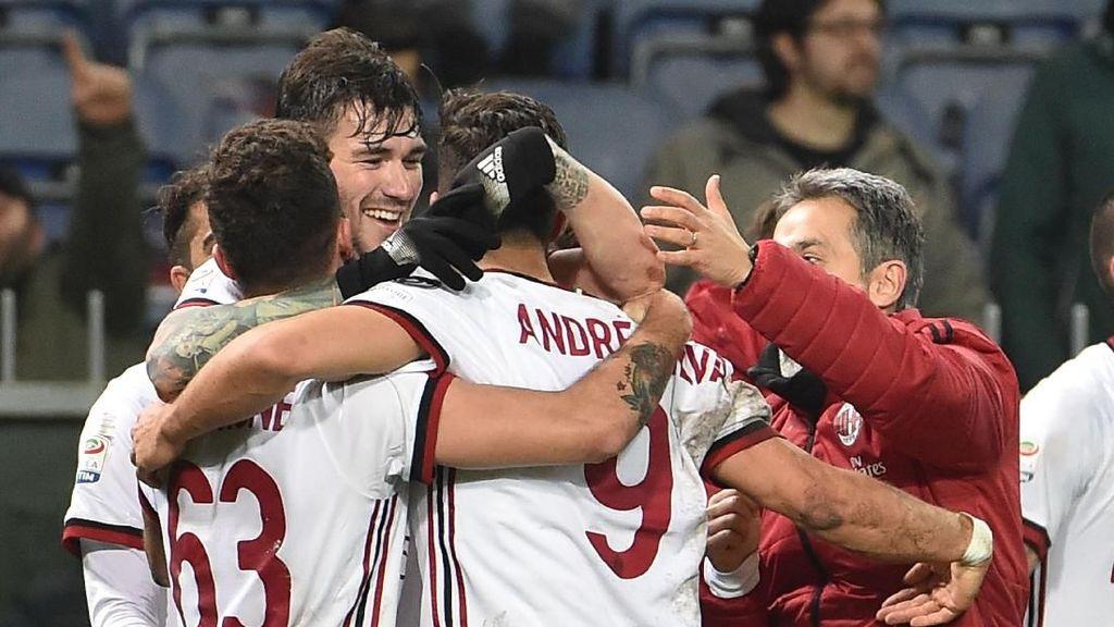 Gol Dramatis Andre Silva yang Menangkan Milan