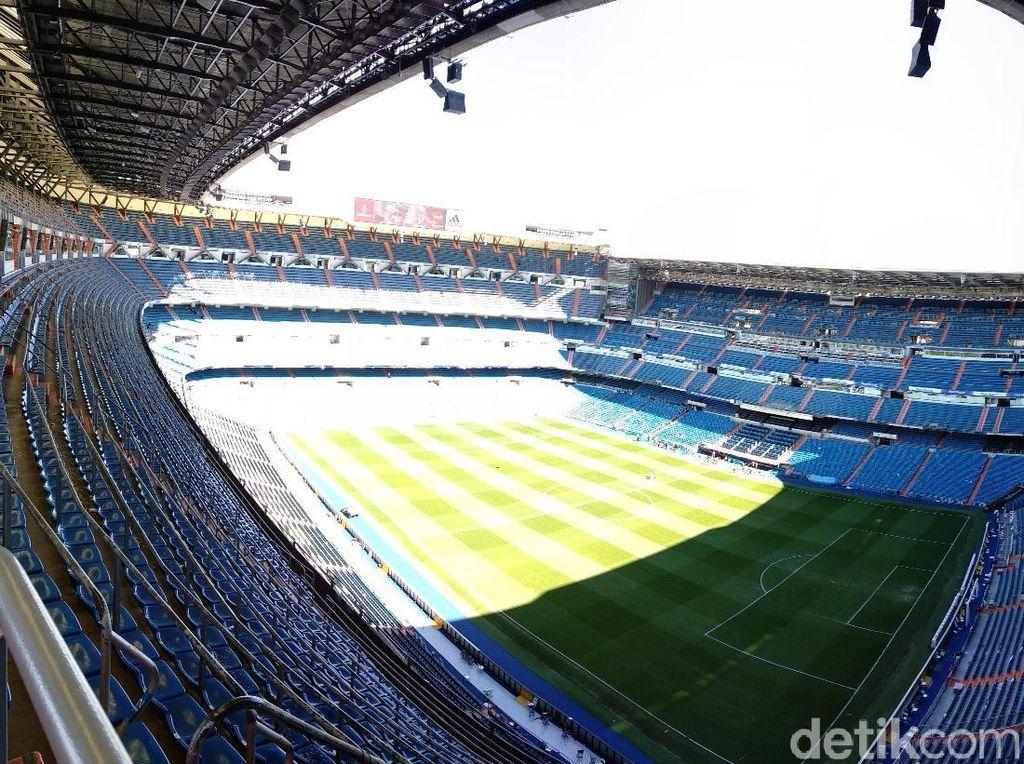 LaLiga Restui Rencana Real Madrid Pindah Stadion Sementara