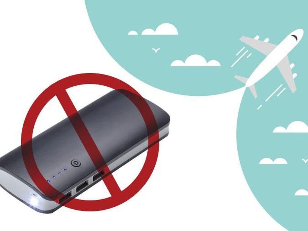 Perusahaan Ini Tutup Karena Aturan Powerbank di Pesawat