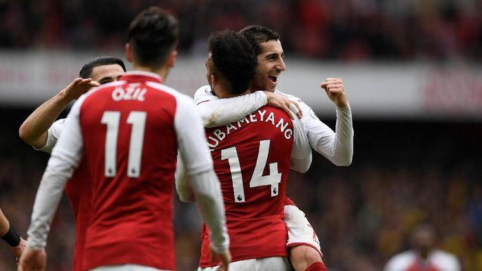 Pemain Arsenal, Henrikh Mkhitaryan. (Foto: Tony Obrien / Action Images via Reuters)