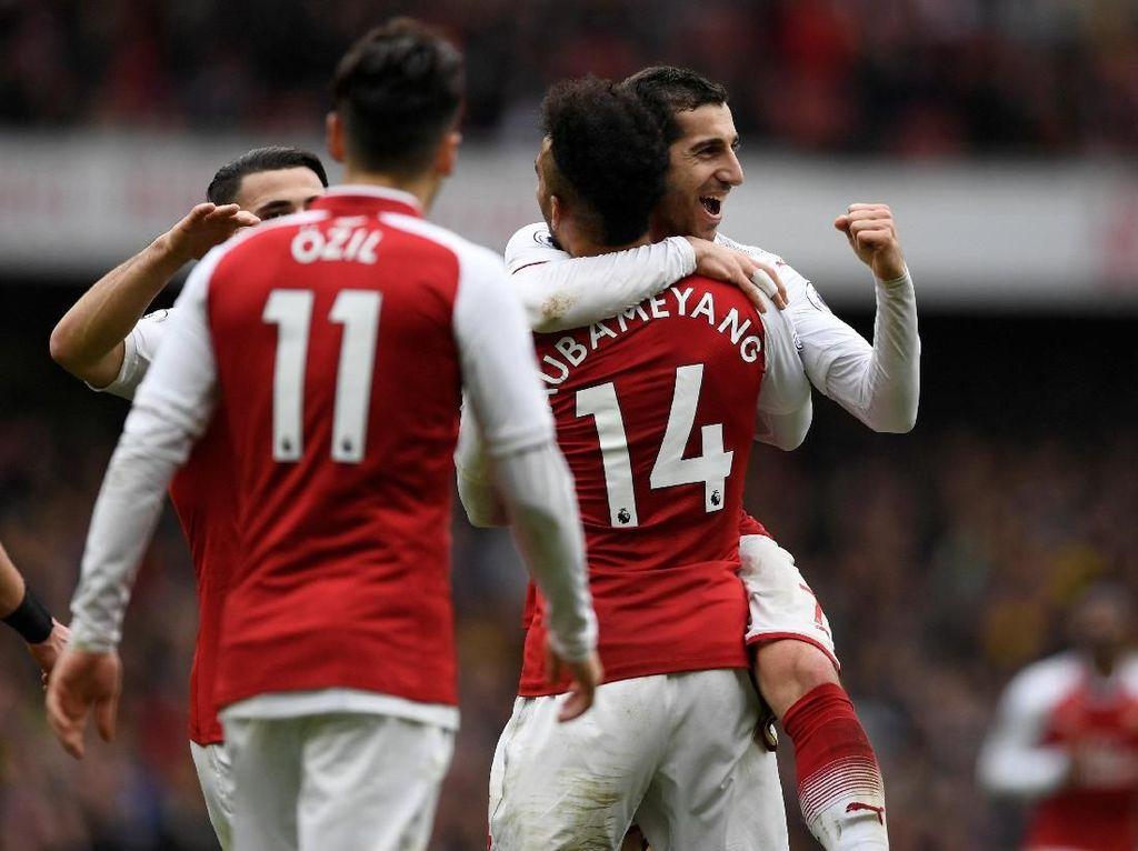 Misi Arsenal Persembahkan Trofi Liga Europa untuk Mkhitaryan