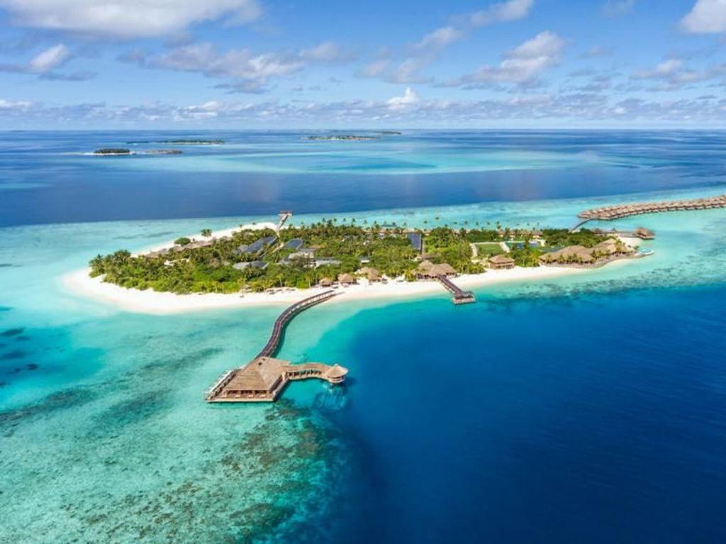 Mungkin, Maldives Tak Terpengaruh Efek Pemanasan Global