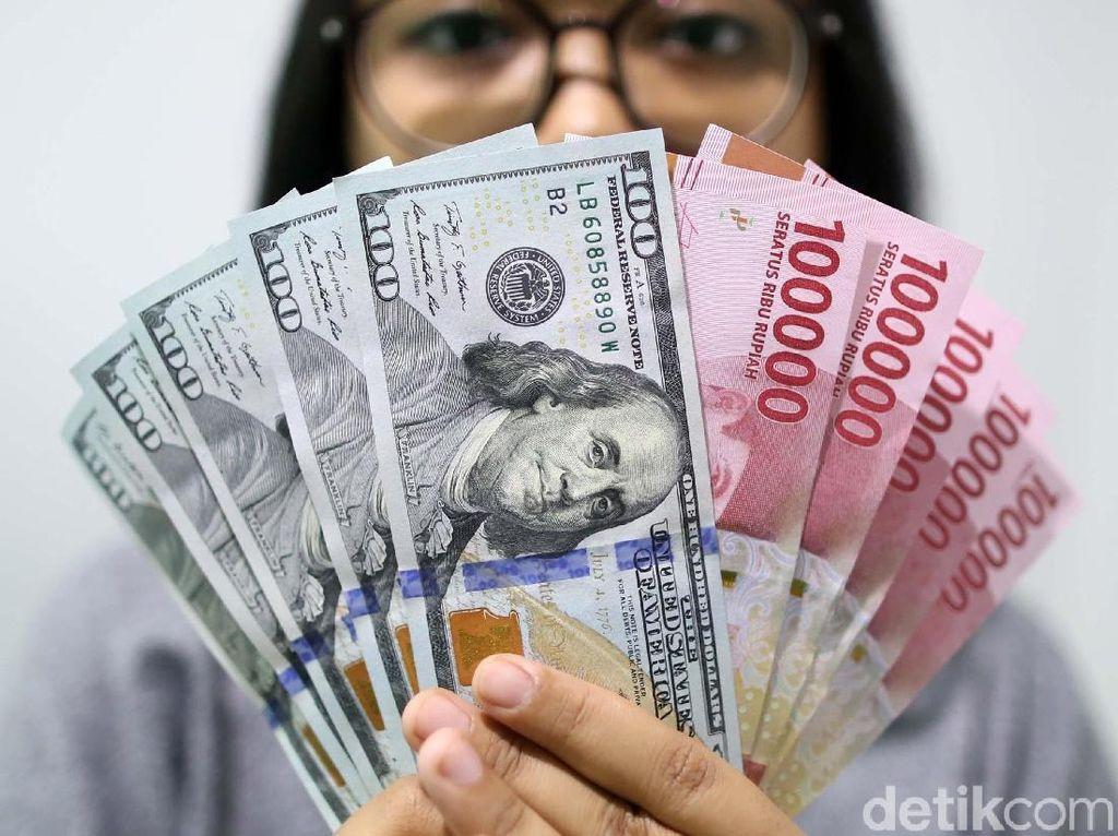 Dolar AS Terbakar ke Rp 13.914