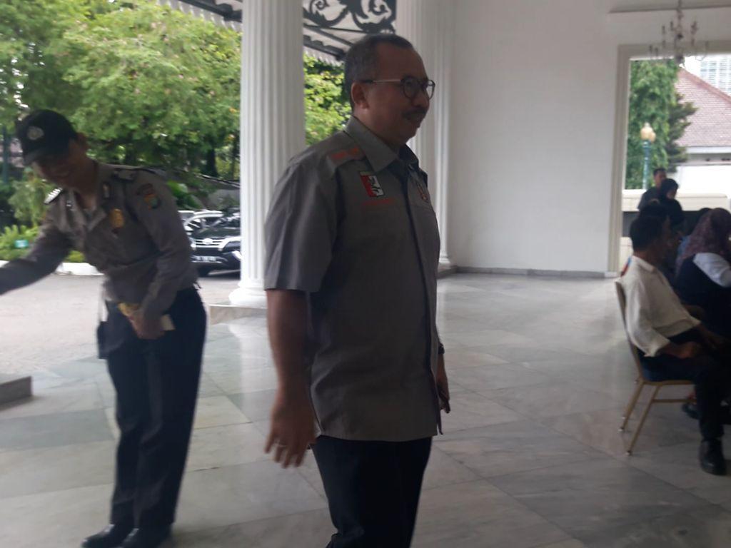 Sambangi Balai Kota, Ketua Perbakin DKI Ingin Audiensi dengan Anies