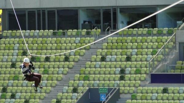 Yang Unik di Stadion Sepakbolanya Egy Maulana, Ada Flying Fox