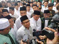 Cak Imin Terima Mandat Kiai Bandung Raya Untuk Jadi Cawapres