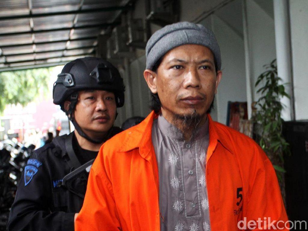 Jaksa: Aman Abdurrahman Tak ke Sidang Bukan Karena Rusuh Mako Brimob