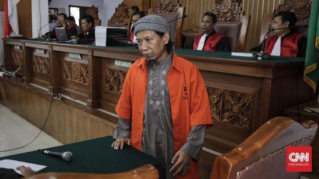 Jaksa Putar Rekaman Ceramah Aman Abdurrahman Saat Sidang