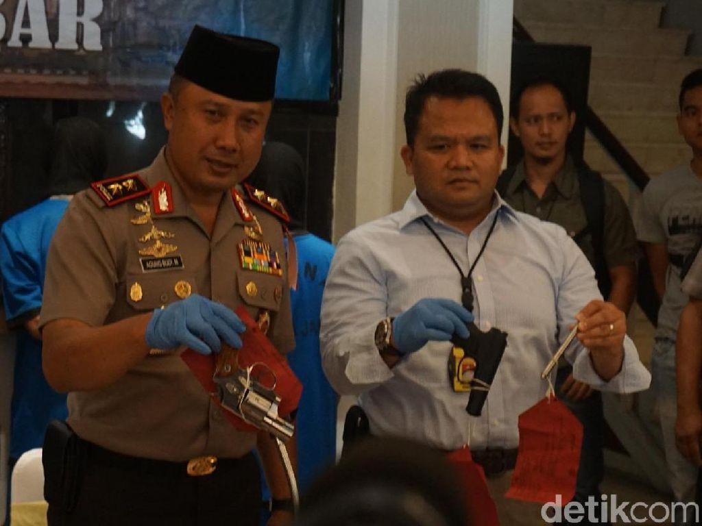 Polisi: Pena Ajaib Rakitan Komplotan Cipacing Mematikan