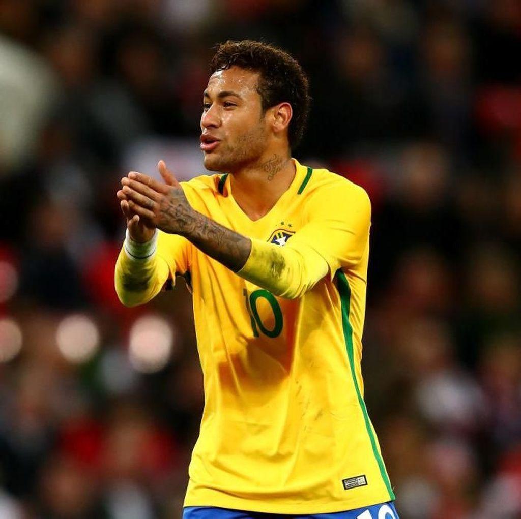 Terkait Neymar, Tite Enggan Ambil Risiko