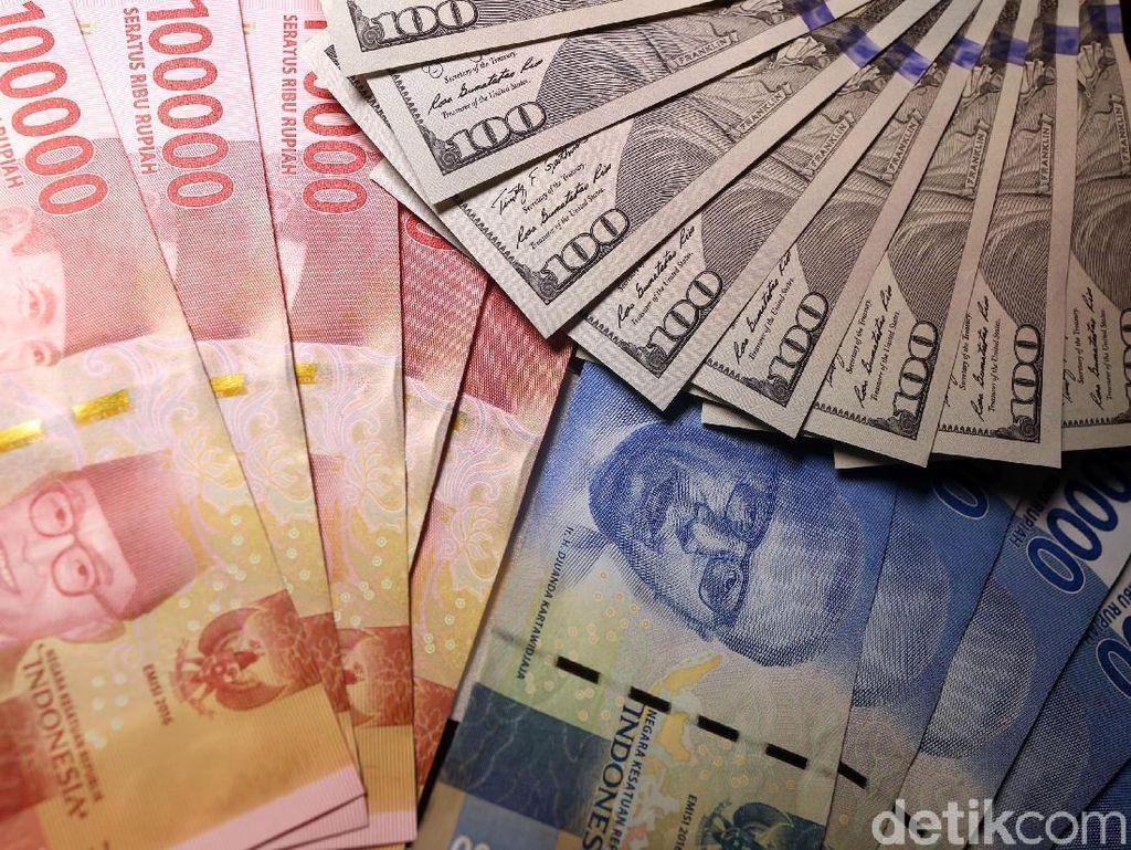Rupiah Keok, Dolar AS Menguat 200 Poin dalam Sepekan