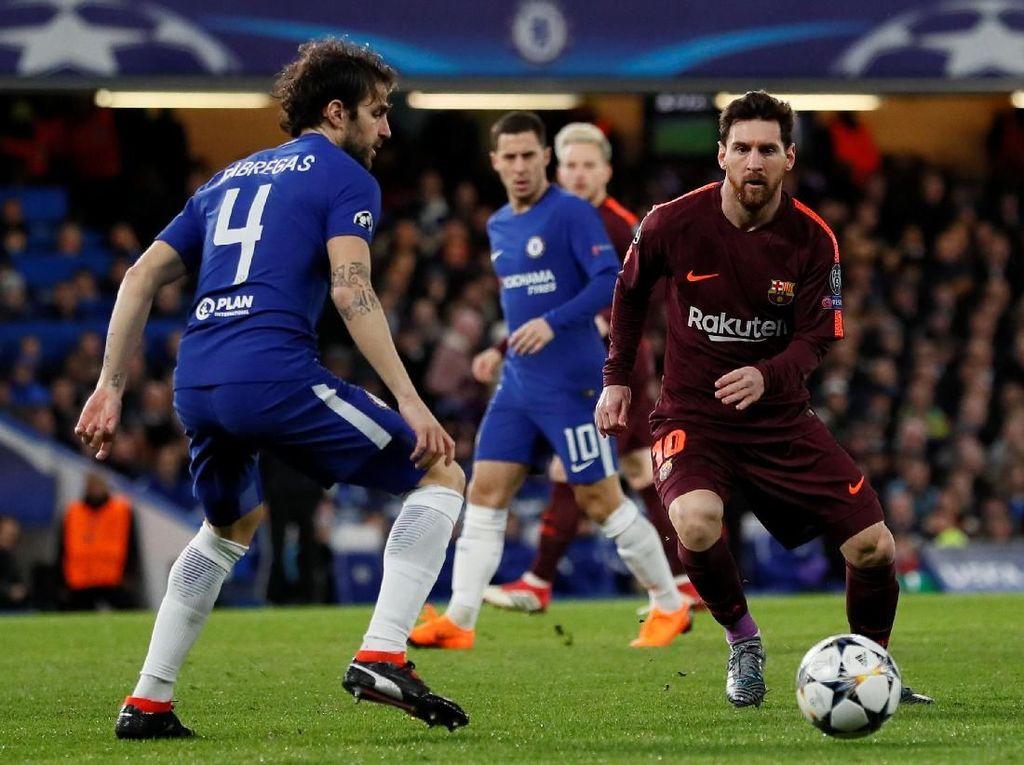 Rencana Fabregas untuk Hentikan Messi