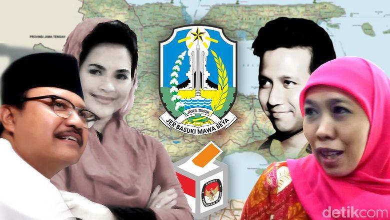 Menuju Pilgub Jatim, Khofifah-Emil Makin Digdaya