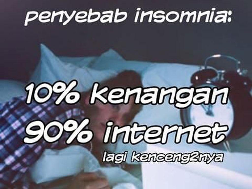 Kumpulan Meme Susah Tidur yang Akan Temani Kamu Malam Ini