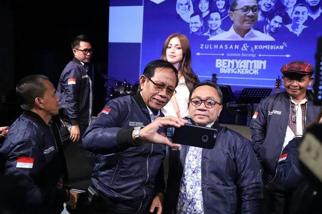 Nonton 'Benyamin Biang Kerok', Ketua MPR Apresiasi Film Indonesia