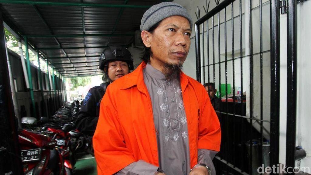 Aman Abdurrahman Jalani Sidang Lanjutan Kasus Bom Thamrin