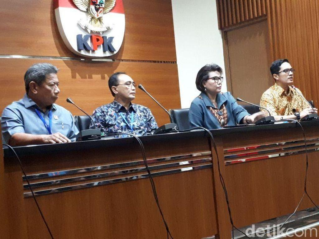 KPK Tetapkan Hakim dan Panitera PN Tangerang Tersangka Suap