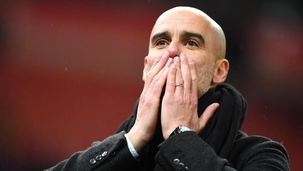 City Bisa Kunci Gelar Lawan MU, Guardiola: Mending Lawan Tim Lain