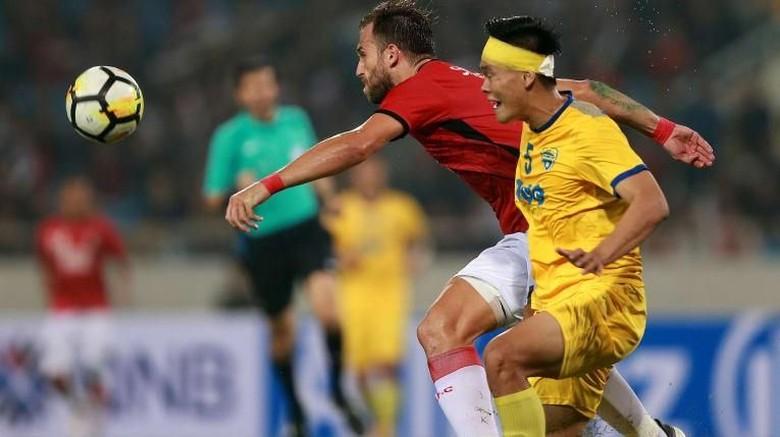 Bali United Imbang Tanpa Gol di Kandang Thanh Hoa