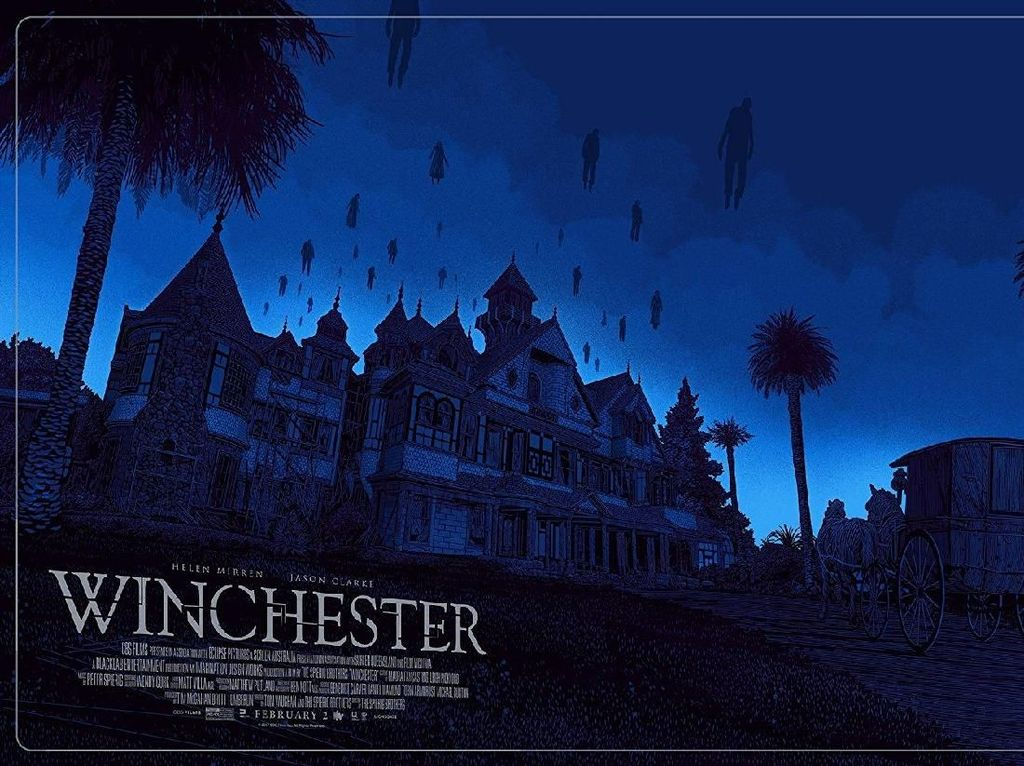 Begini Sejarah Winchester Mansion Dalam Film Winchester