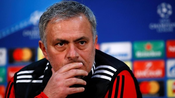Mourinho Bicara soal Peluang Juara MU di Liga Champions