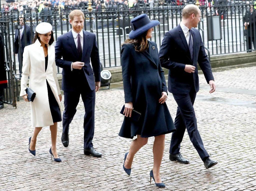 Foto: Pakai Topi Baret, Meghan Markle Hidupkan Lagi Gaya Puteri Diana